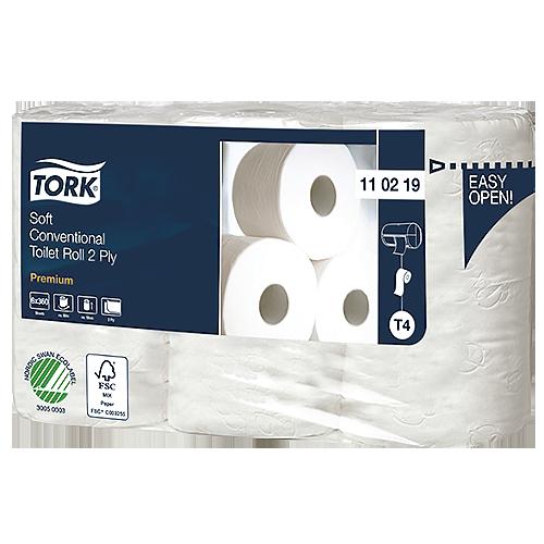 Toalettpapper Tork Mjuk T4 42/fp