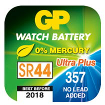 Klockbatteri GP SR44/357