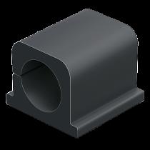Kabelklämma Cavoline Clip Pro 2 grafitgrå 4/fp