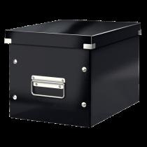 Förvaringslåda Click & Store Medium svart