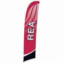 Beachflagga Rea 50x230 cm