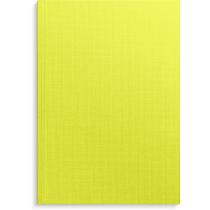 Anteckningsbok Burde grön linnetextil linjerad A5