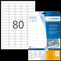 Avtagbara etiketter Herma 35,6x16,9 mm 2000/fp