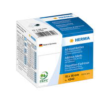 Adressetiketter Herma 70x38 mm 250/fp